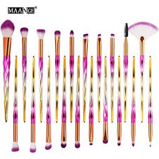 Saingace <b>20PCS</b>/<b>Set</b> Makeup Brush, 20PCS Make Up: Amazon.co ...