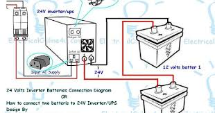 wiring diagram of home inverter wiring image how to connect two batteries to inverter 24 volts ups 2 batteries on wiring diagram of