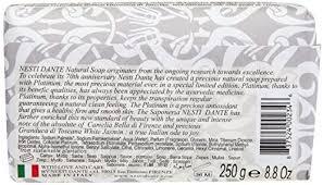 Nesti Dante 7070 Anniversary Luxury Platinum Soap ... - Amazon.com