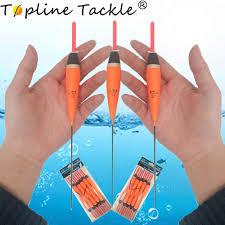 <b>Topline Tackle 10pcs</b> Fishing Float Vertical Buoy Float Fishing Light ...