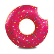 <b>Круг надувной BigMouth Strawberry</b> Donut BM1516 от BigMouth за ...