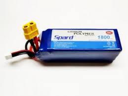 <b>Аккумулятор Spard LiPo 22.2V</b> 6S 75C 1800mAh (XT60) - YT020