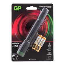 <b>Фонарь ручной GP Batteries</b> C33BE (GP C33BE-2CRFB1 ...