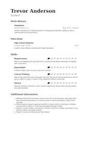handyman resume samples   visualcv resume samples databasehandyman resume samples