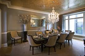 Modern Crystal Chandeliers For Dining Room Marvelous Dining Rooms With Beautiful Chandelier Modern Home