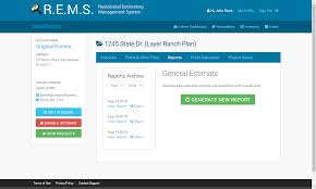 rems reports tawconcepts rems will also archive each time you run a new report so you can look back on older estimates on the same job estimating was never so easy