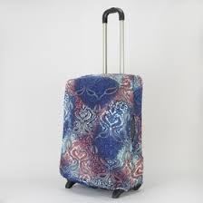 """<b>Чехол для чемодана</b> 28"""", цвет синий/узоры (3393023) - <b>Сима</b>-<b>ленд</b>"""