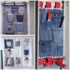 pocket organizer jeans bedroom