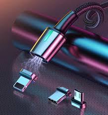 <b>Магнитный кабель Baseus</b> Zinc Magnetic 3 в 1 Micro-USB ...