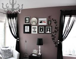 green living room purple gray