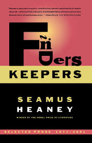 com finders keepers selected prose  com finders keepers selected prose 1971 2001 9780374528782 seamus heaney books