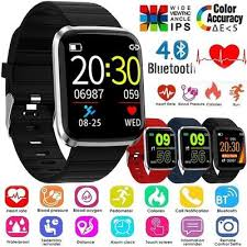 <b>T68 Smart Watch</b> Body Temperature Detection ECG PPG ...