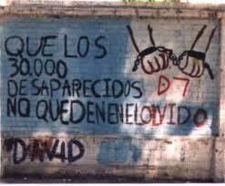 Resultado de imagen para desaparecidos en la dictadura