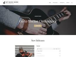 My <b>Music Band</b> - WordPress theme | WordPress.org