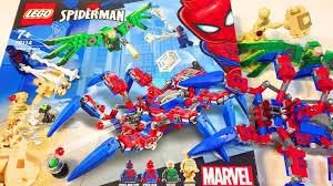 Лего Человек Паук Марвел Супер Герои Обзор Лего 76114 ...