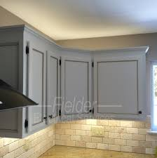 led lighting above under cabinetry above cabinet lighting