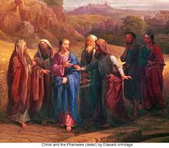 Image result for pharisees question Christ