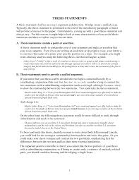 what is an essay thesis thesis statement in an essay