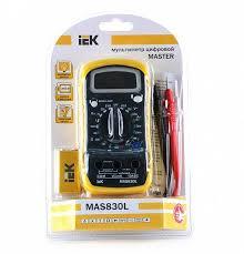 <b>Мультиметр цифровой IEK Master</b> MAS830L - купить в Краснодар ...