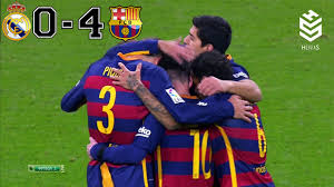 Real Madrid vs Barcelona 0-4 All Goals and Full Highlights English ...
