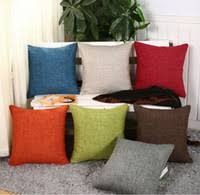 <b>Wholesale Solid Color</b> Throw Pillows