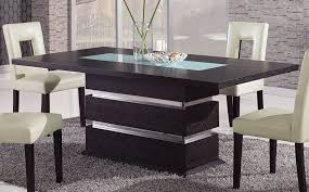 charming design dining table modern brown contemporary pedestal dining table with glass inlay naperville modern dining b131t modern noble lacquer dining table