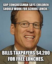 "Jack Kingston: The ""No Free Lunch"" Douchebag - Bitch & Whine via Relatably.com"