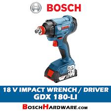 <b>Bosch</b> 18V Cordless Impact Wrench <b>GDX 180</b>-<b>LI</b> Malaysia ...