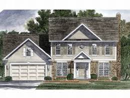 Colonial House Plans   The House Plan ShopColonial Home Plan  H