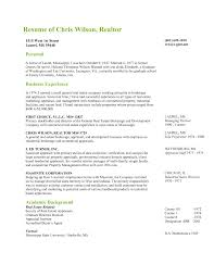 broker estate real resume sample director resume experienced real estate agent resume sample a part of under professional resumes