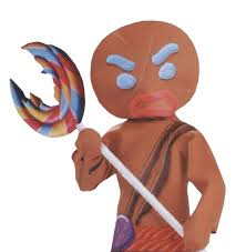 Shrek <b>Gingerbread</b> Warrior <b>Man Inflatable</b> Lollipop | Lollipop ...