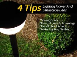 4 tips on lighting flower and landscape beds area lighting flower bed