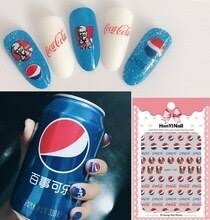 3 листа 3D <b>наклейки для ногтей</b> дизайн ультратонкий cola ...
