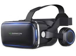 <b>Очки виртуальной реальности Veila</b> VR Shinecon с наушниками ...