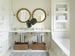 coastal bathroom designs: view full size coastal bathroom built in tub shelves wainscoted tub marble deck