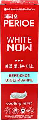 <b>Зубная паста PERIOE</b> White now cooling mint <b>отбеливающая</b> ...