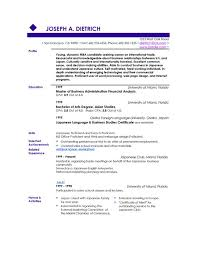 resume template  best word resume templates resume examples        resume template  best sample resume template word format with master of business administration financial analysis