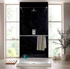 waterproof bathroom wall options shower wall panels black marble shower wall panels