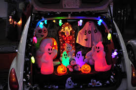 This is the image for the news article titled Trunk or Treat at the Library