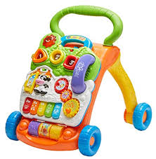 Buy <b>VTech</b> Sit-To-Stand Learning <b>Walker</b> - Orange Online at Low ...