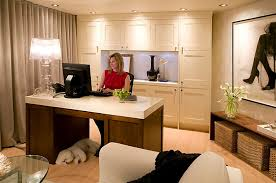 view in gallery lighting your home office just right basement office design ideas