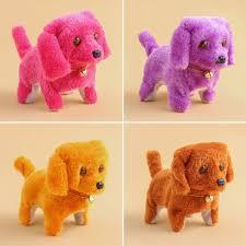 Cute Barking Walking Electronic Moving Plush <b>Dog Puppy Toy</b> Kids ...