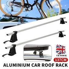 <b>CAR ROOF</b> BARS - Universal Fit For <b>Cars</b> With Rails/Rack Fitted ...