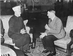 Il Mufti' di Gerusalemme a colloquio con il suo caro amico Hitler