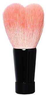 <b>Kumanofude</b> Heart <b>Face</b> Wash Brush (Middle / Black) KOYUDO ...