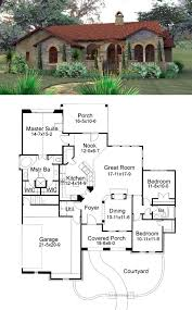 images about House plans on Pinterest   Floor Plans  House    Cottage European Mediterranean Tuscan House Plan
