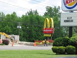 Our McDonalds in town yesterday got bulldozed. Burger King found ... via Relatably.com