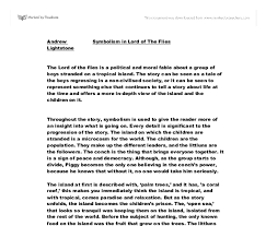 lotf essay   drug abuse in schools essaylord of the flies outline