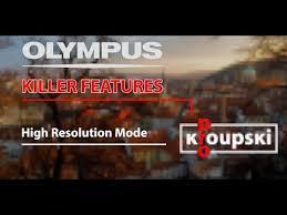 Olympus Killer Features - 04 – Режим высокого разрешения Супер ...