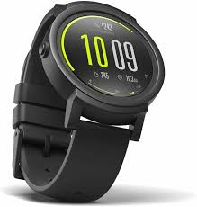 Умные часы Mobvoi <b>Ticwatch E</b> Shadow <b>Black</b> Android Wear/OS+ ...